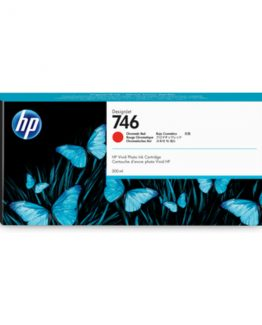 HP No746 300 ml. Chromatic Red DesignJet Ink Cartridge