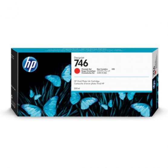 HP No746 300 ml. Chromatic Red DesignJet Ink Cartridge