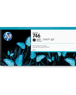 HP No746 300 ml. Matte Black DesignJet Ink Cartridge