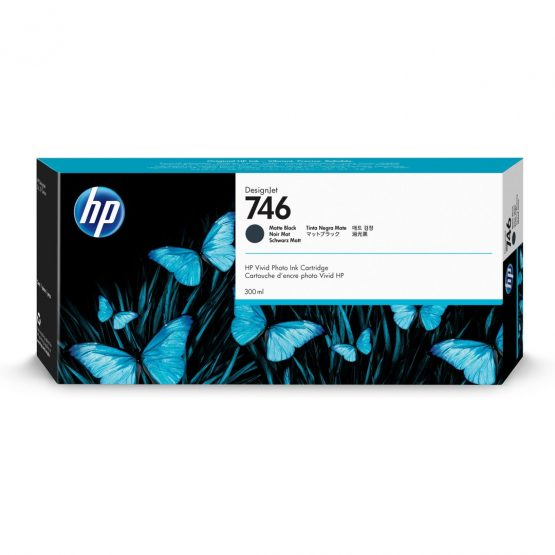 HP No746 300 ml. Matte Black DesignJet Ink Cartridge