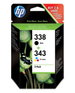 No338/ No343 ink cartridge (sampack)