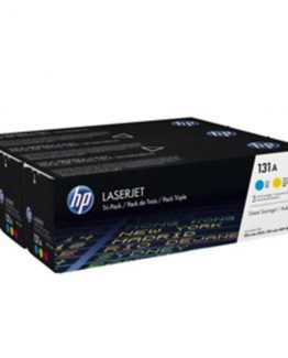 Color LaserJet 131A c/y/m tri-pack