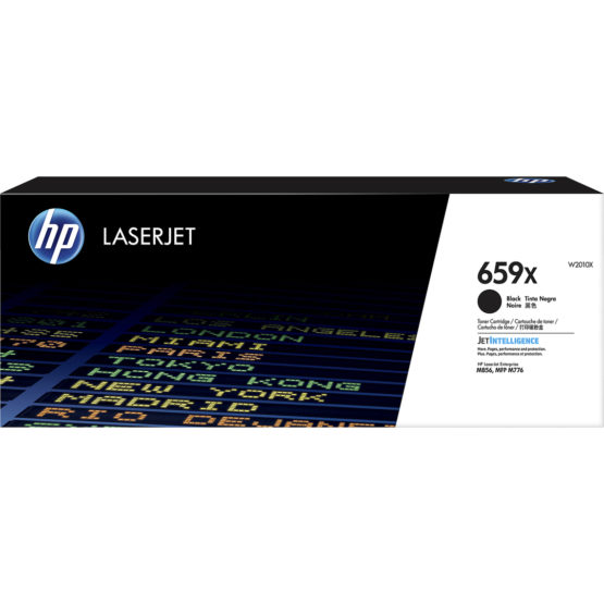 659X  High Yield Black LaserJet Toner Cartridge 34k