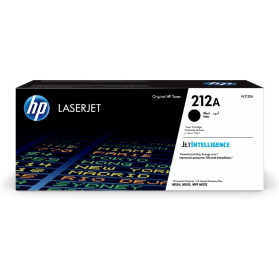 212A Black LaserJet Toner Cartridge 5,5K