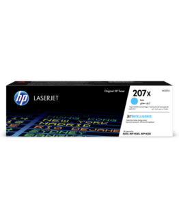 207X Cyan LaserJet Toner Cartridge 2,45k