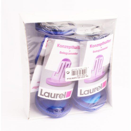 Page holder PS 60 mm crystal blue Laurel