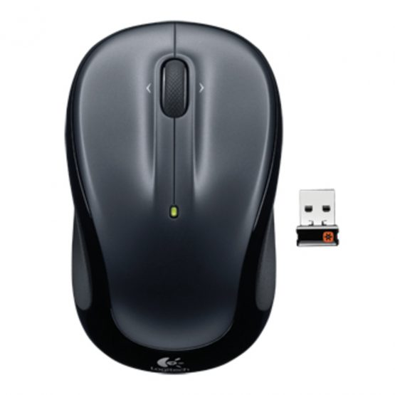M325 Wireless Mouse, Dark Silver