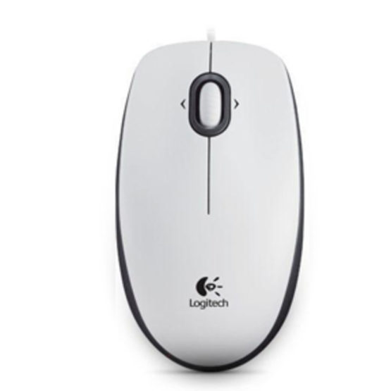 B100 Optical Business Mouse, White (OEM)