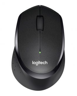 B330 Silent Plus Wireless Mouse, Black
