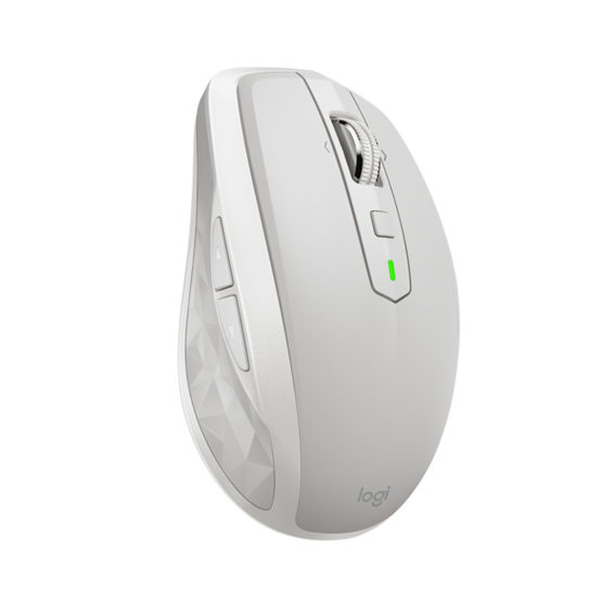 MX Anywhere 2S Wireless Mobile Mouse, Light Grey