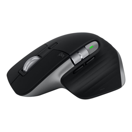 Logitech MX Master 3 for Mac Advanced Wireless Mouse, Space