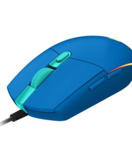 Logitech G203 LIGHTSYNC Gaming Mouse, Blue