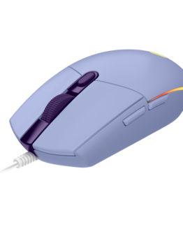 Logitech G203 LIGHTSYNC Gaming Mouse, Lilac