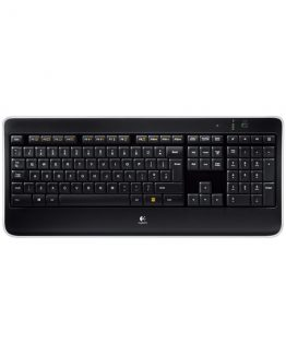 K800 Illuminated Wireless Keyboard, Black (Nordic)