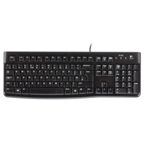 OEM - K120 Business Keyboard, Black (Nordic)