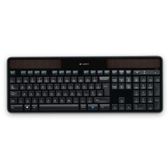 K750 Solar Wireless Keyboard, Black (Nordic)