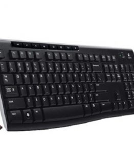 K270 Wireless Keyboard, Black (Nordic)