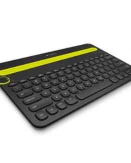 K480 Bluetooth Multi-Device Keyboard, Black (Nordic)