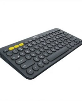 K380 Multi-Device Bluetooth Keyboard, Dark Grey (Nordic)