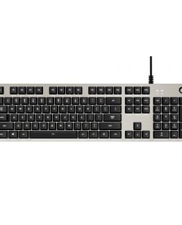 G413 Gaming Keyboard, Silver (Nordic)