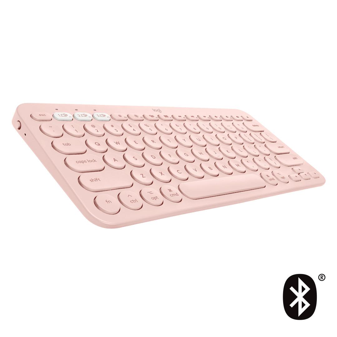 K380 for Mac Multi-Device Bluetooth Keyboard, Rose (Nordic)