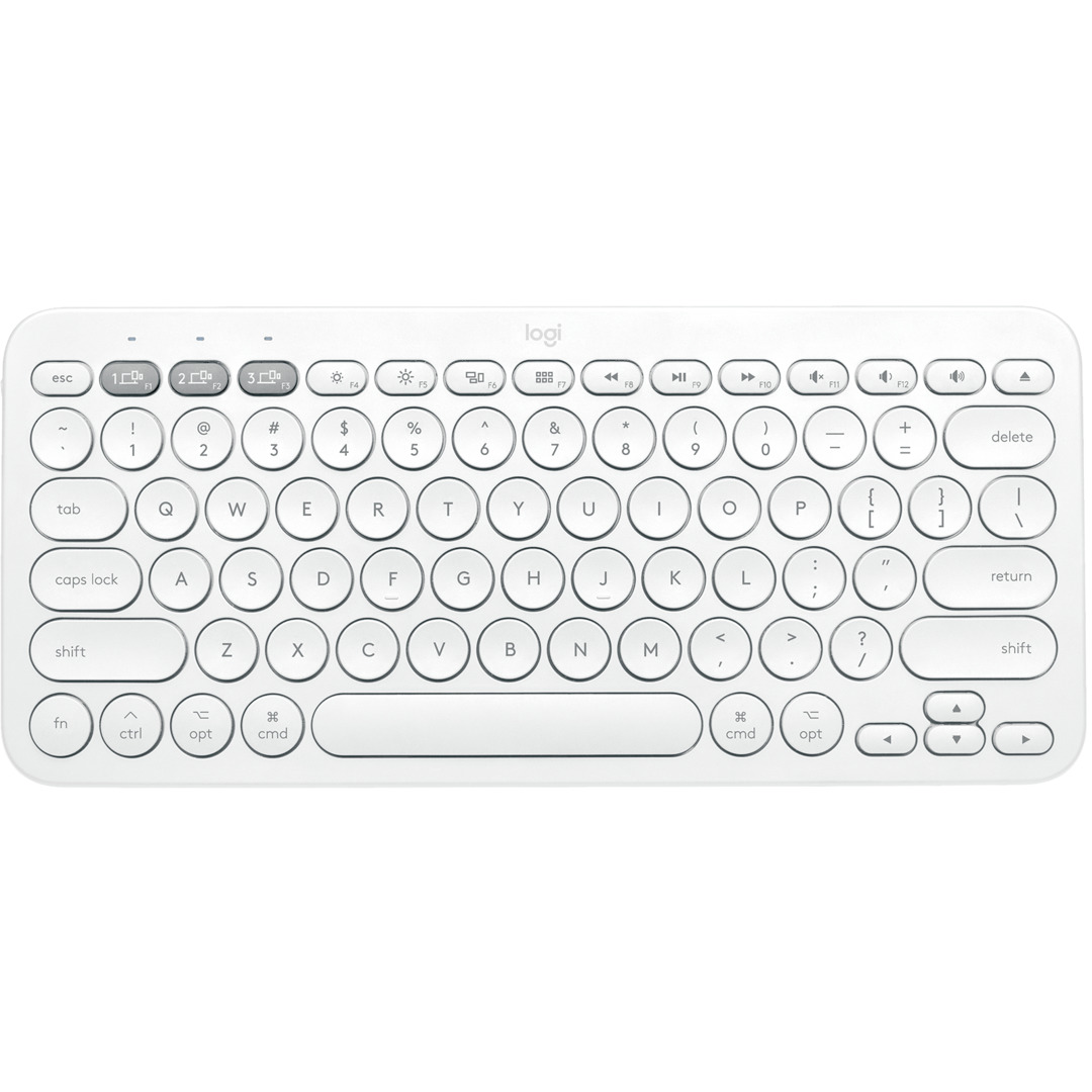 K380 for Mac Multi-Device Bluetooth Keyboard, Off-White (Nor
