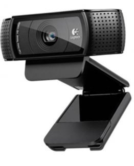 C920 HD Pro Webcam, Black