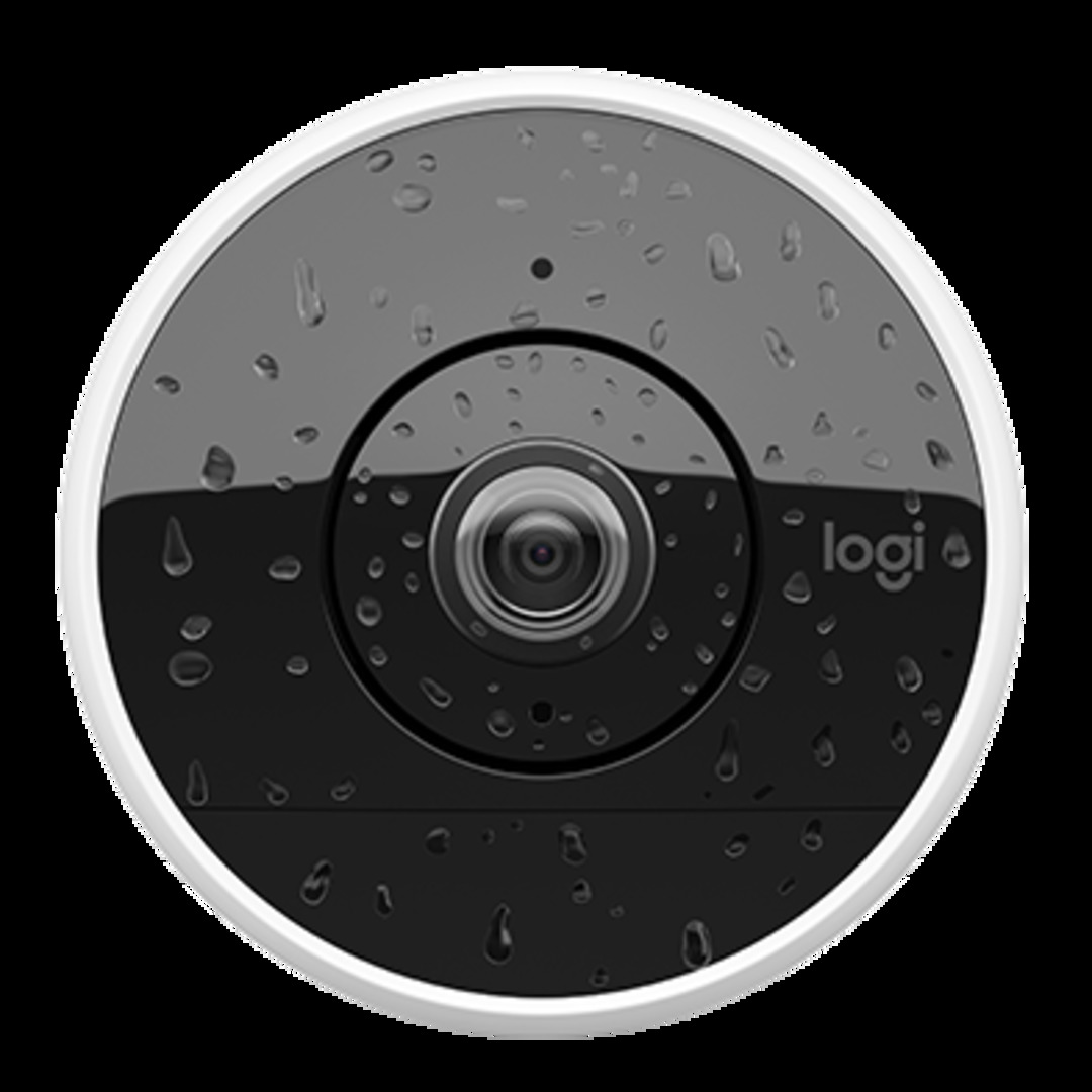 Circle 2 Indoor/Outdoor Security Camera, 100% Wire-Free, Whi