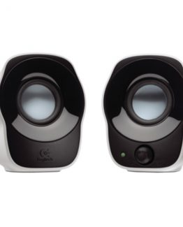 Z120 2.0 Stereo Speakers, White