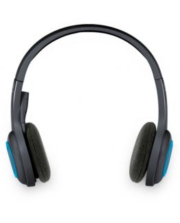 H600 Wireless Headset, Black/Blue