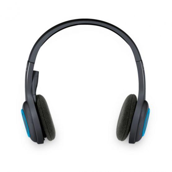 H600 Wireless Headset, Black/Blue