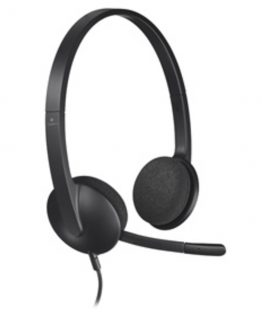 H340 USB Headset, Black