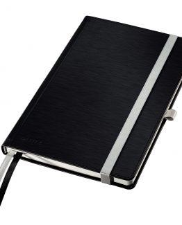 Notebook Style A5 Hard Plain s80s. black