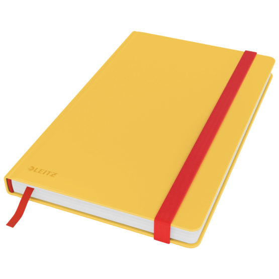 Notebook Cosy HC M square 80sh 100g yellow