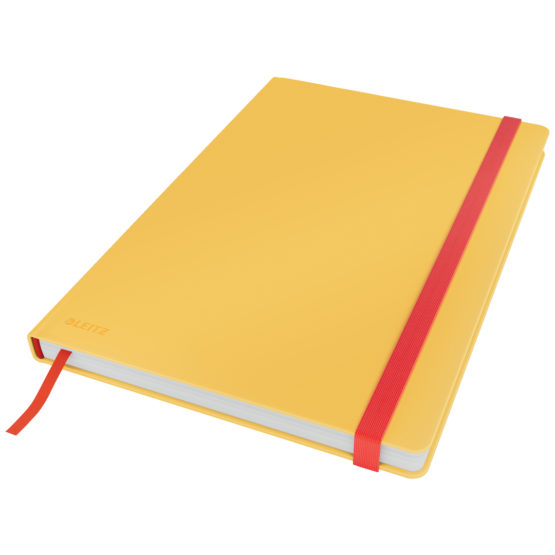 Notebook Cosy HC L square 80sh 100g yellow