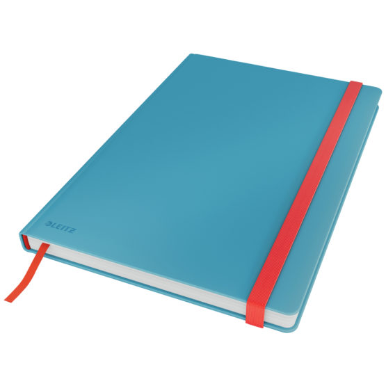 Notebook Cosy HC L square 80sh 100g blue