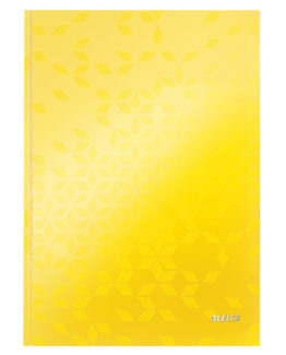 Notebook WOW A4 ruled 80sh 90g yellow