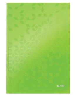 Notebook WOW A4 ruled 80sh 90g green