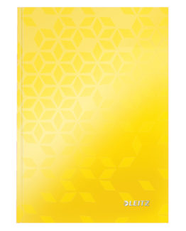 Notebook WOW A5 ruled 80sh 90g yellow