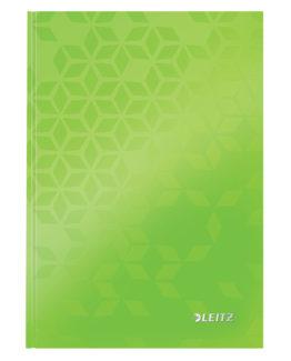 Notebook WOW A5 ruled 80sh 90g green