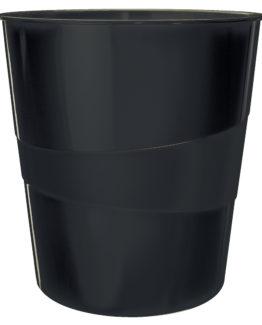 Waste bin recycle 15l black