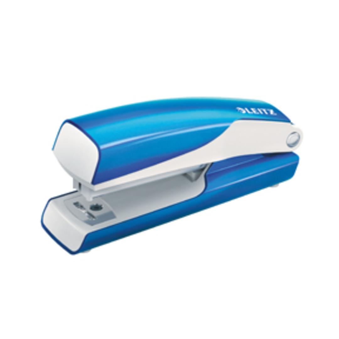 Stapler Mini WOW 10sheets blue