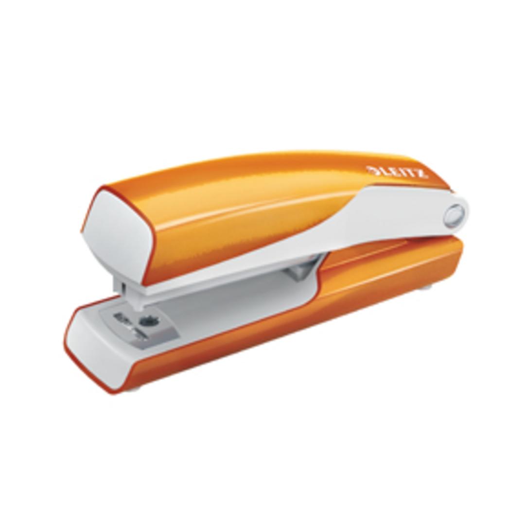 Stapler Mini WOW 10sheets orange