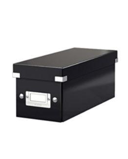 Storage box Click&Store CD black