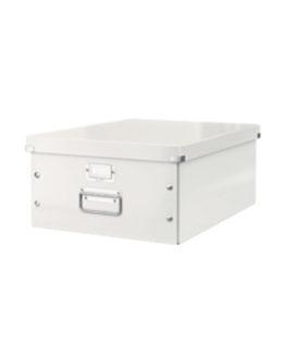 Storage box Click&Store large white