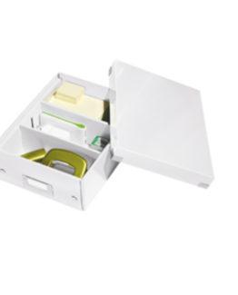 Organizer box Click&Store small white