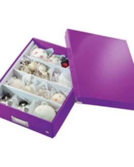 Organizer box Click&Store Smal WOW purple
