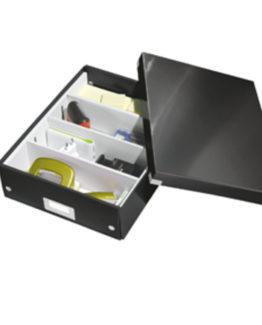 Organizer box Click&Store medium black
