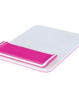 Mousepad Wrist Rest Ergo Leitz WOW Pink