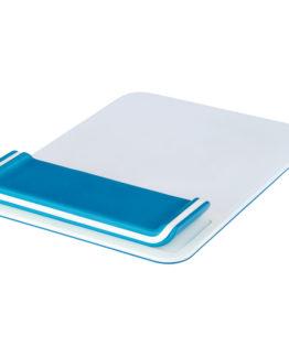 Mousepad Wrist Rest Ergo Leitz WOW Blue
